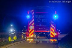 Branddienstübung in Polsing