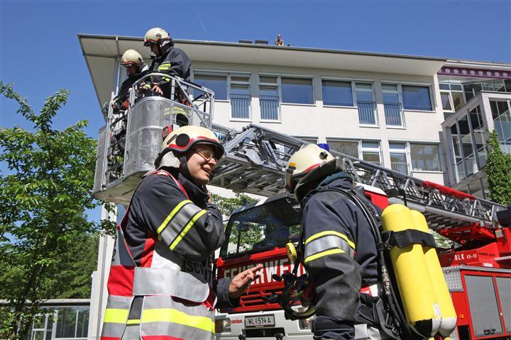05.06.2010: Alarmstufe II – Übung Institut Hartheim