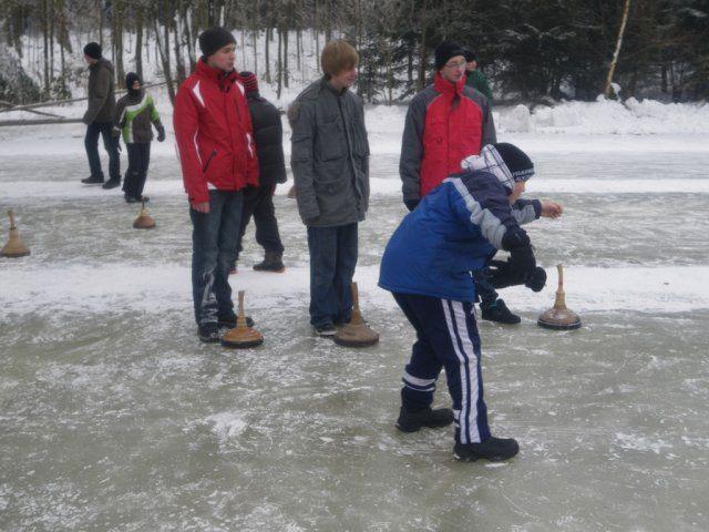 23.01.2010: Erneuter Sieg bei Eisstockturnier des Bezirkes Eferding