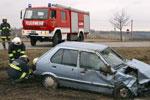 22.10.2010: Verkehrsunfall auf der Spar-Kreuzung