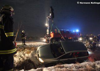 Unfall nach Glatteis