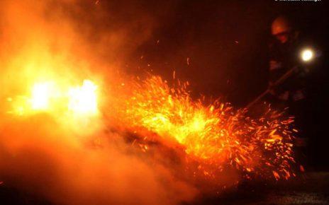 Böschungsbrand in Bergam / Foto: Kolli