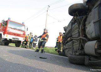 Unfall in Straß / Foto: Kasi
