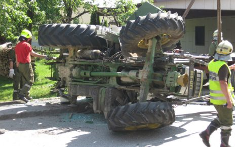 Traktor / Foto: FF Fraham