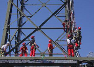 Höhenretterausbildung LFS / Foto: Kolli