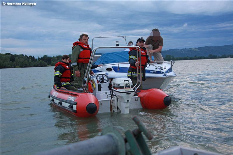 Einsatz auf der Donau / Kolli