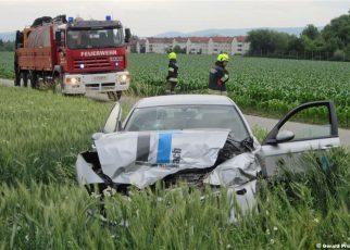 Unfall in Hartheim / Prückl