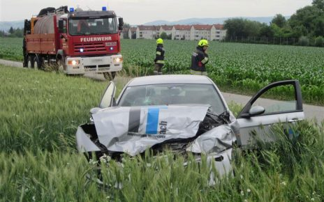 Unfall in Hartheim / Prückl