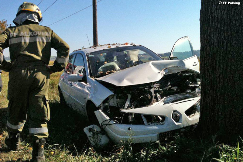 Unfall 3.10.2011 (Foto: FF Polsing)