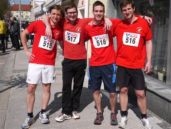 FF Alkoven beim Osterlauf