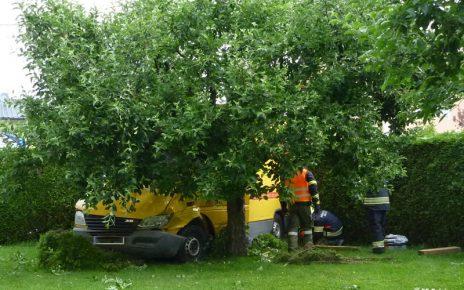 Garten-Unfall / Foto: FF Polsing