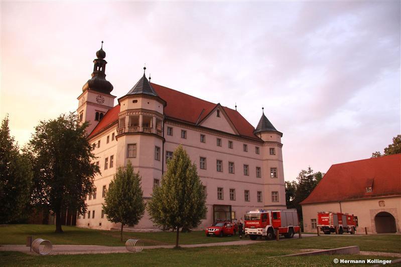 Übung im Schloss / Foto: Kolli