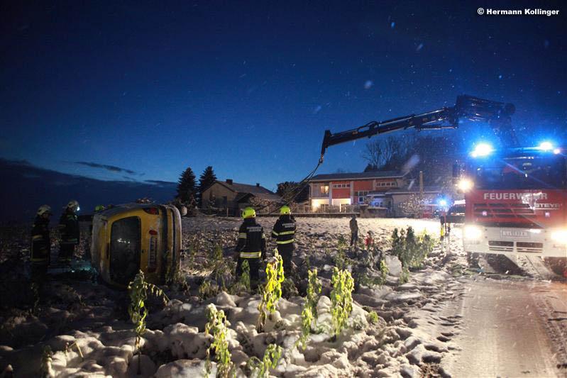 Schneeunfall (Foto: Kolli)