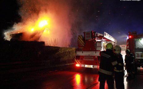 Wohnhausbrand / Foto: Kollinger
