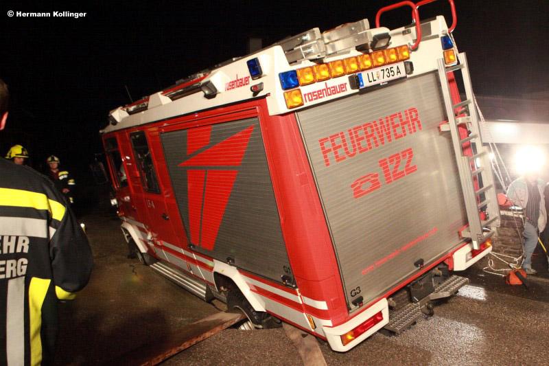 LF-A-Bergung / Foto: Kollinger