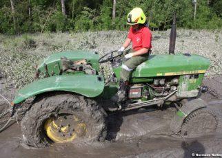 Traktorbergung / Foto: Kolli