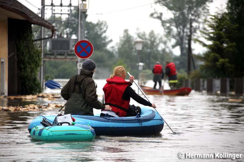 Hochwasser in Alkoven (Foto: Kolli)