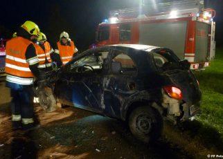 Unfall / Foto: FF Polsing