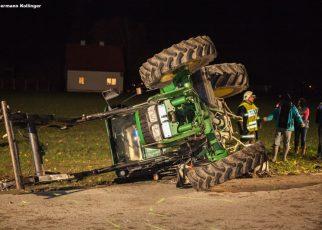 Traktorunfall / Foto: Kolli
