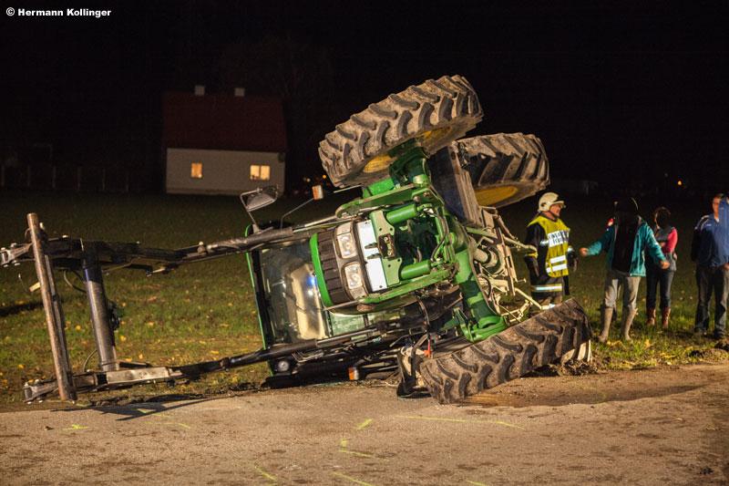 07.11.2013: Anhalteversuch mit unerwarteten Folgen in Hinzenbach