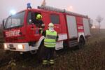 20.01.2014: Autobergung aus Feld zwischen Annaberg und Straßham