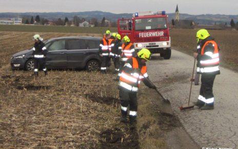 Unfall in Hartheim