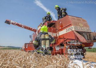 Drescherbrand / Foto: Kollinger