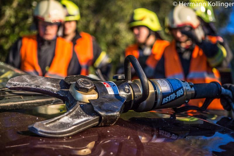 18.09.2014: Gemeinsame Unfalleinsatzübung mit Schulungscharakter