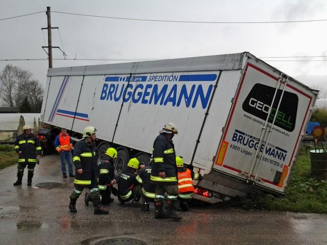 Lkw-Bergung in Eferding
