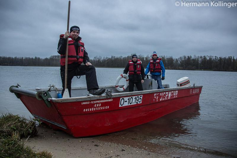 30.11.2014: Arbeitsboot -> Zum Abschied ein Servus