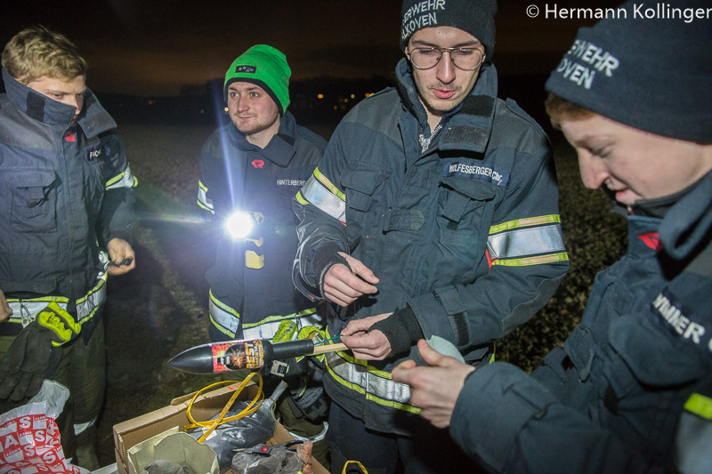 Pyrotechnik / Foto: Kollinger