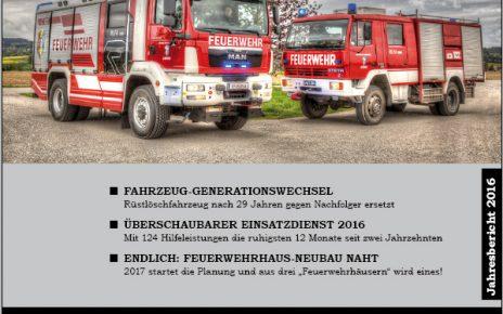 Cover Jahresbericht