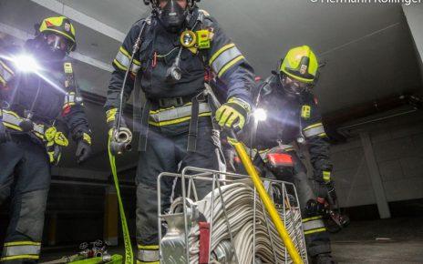 Tiefgaragenbrand / Foto: Kolli