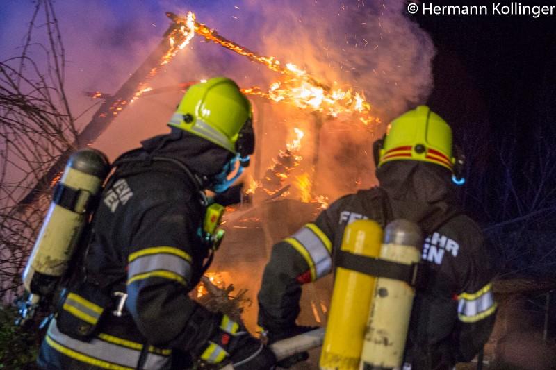 Hüttenbrand / Foto: Kollinger