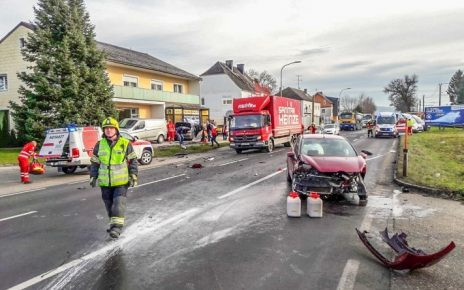 Unfall / Foto: FF Alkoven