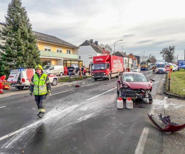 Unfall / Foto: FF Alkoven