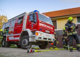 Branddienstübung / Foto: Kollinger