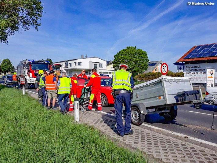 Verkehrsunfall / Foto: Unter