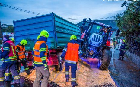 Traktorunfall / Kollinger