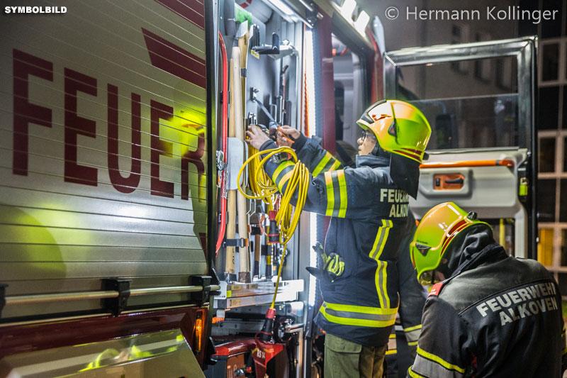 23.11.2019: Ölspur im Bereich Winkeln / Kleinhart