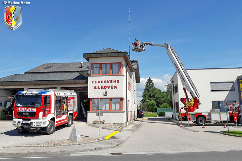 13.07.2020: Umrüstung auf Digitalfunk bei Alkovener Feuerwehren im Gang