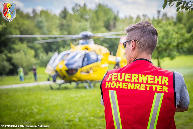 17.11.2020: Höhenretter-Alarmierung zu verschütteter Person in Walding