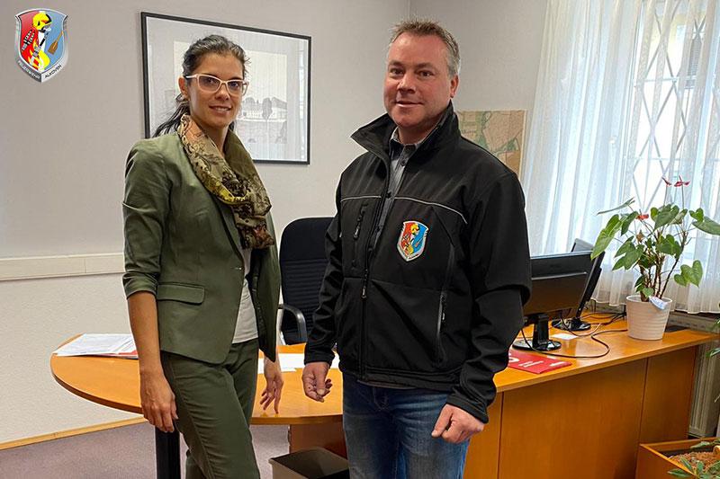 15.10.2020: Antrittsbesuch bei der neuen Bürgermeisterin