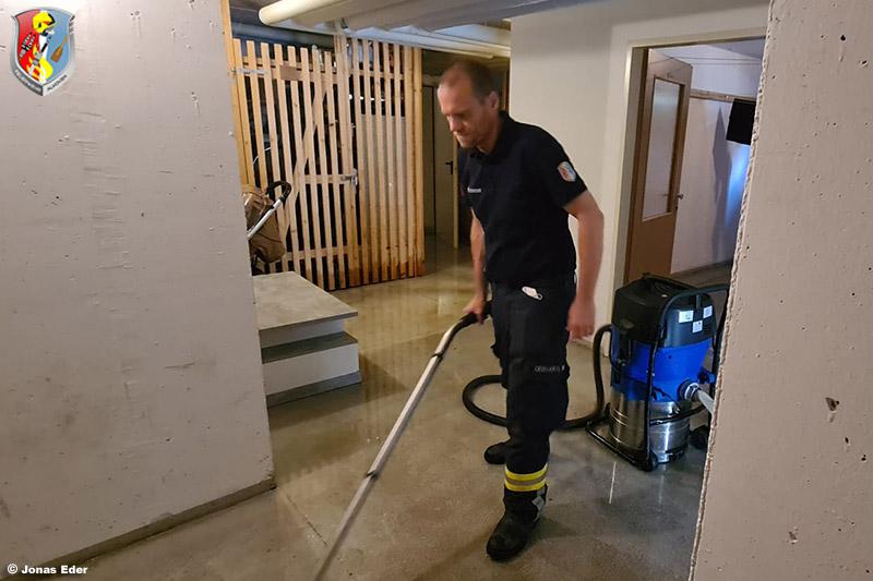 15.07.2021: Kleinalarm zu Wasserschaden in Keller eines Mehrfamilienhauses