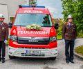 05.05.2019: Feuerwehr Polsing segnet neues Kommandofahrzeug auf MAN